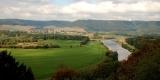 k-021 Blick auf die Weser im Tal